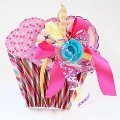 Cupcake Birthday Card or invitation