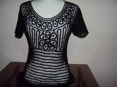 Resultado de imagen para blusas bordadas a mano de cartago valle Crochet Blouse, Sweaters, Shirts, Women, Ph, Fashion, Outfits, Mariana, Lace Tops