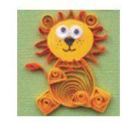 Lion! tutoriale zwierzęta, ptaki, kwiaty _http://paperquillingcraft.blogspot.com/