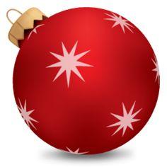 Christmas Ball Red 1