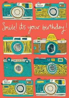 £2.99 | Jessica Hogarth #vintage #camera #illustration #print