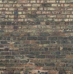 Photography Backdrop - FREE SHIPPING - Light and Dark Grungy Brick - Dark brick & some pastel brick photo backdrop - Printed brick backdrop