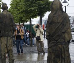 Custom House Famine Memorial [Streets Of Ireland Project]