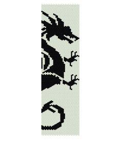 Peyote Bracelet Pattern  If There Be Dragons Buy 2 by KFSDesigns, $6.50