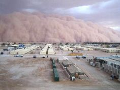 Al Asad, Iraq, 2007 15 Ominous Photos of Dust Storms