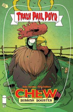 Chew #47 image comics cover