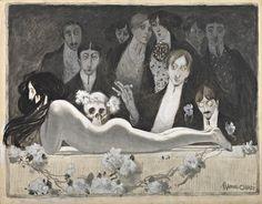 Manuel Orazi, an occultist illustrator