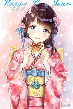 A online pace for discussion about anime/manga related things around the world Manga Kawaii, Kawaii Anime Girl, Anime Art Girl, Anime Girls, Kawaii Doll, Anime Kimono, Pretty Anime Girl, Beautiful Anime Girl, Chibi Anime