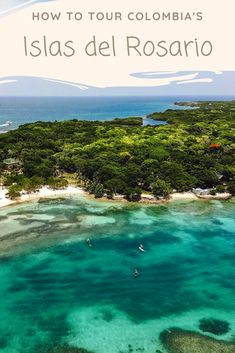 How to tour Islas del Rosario? Read this guide on how to choose which Rosario Island to visit, and how to do a day trip from Cartagena. Bolivia Travel, Colombia Travel, Wanderlust, Tours, South America Travel, Travel And Tourism, Day Trips, Trip Planning, Adventure Travel