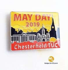 Every year since 1995 we have supplied badges to Chesterfield TUC, this example is an impressive Name Badges, Pin Badges, Make Your Own Badge, Custom Badges, Chesterfield, Charity, Create, Day, How To Make