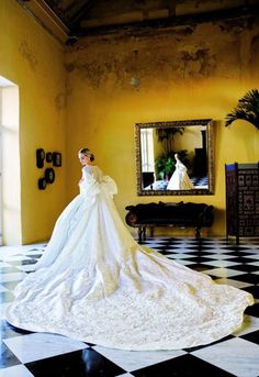 Lauren Santo Domingo, Vogue Contributing Editor, is photographed by Arthur Elgort for Vogue, January 2010