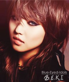 BLUE EYED K-POP IDOLS- Miss A's Min