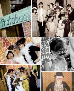 photoboot ideas idee per foto durante la festa di matrimonio