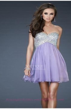 A-Line Sweetheart Mini Length Chiffon and Sequins Short Prom Dress - HomeComing Dresses - Special Occasion Dresses - Wedding & Events Short Strapless Prom Dresses, Sweetheart Prom Dress, Prom Dresses For Sale, Grad Dresses, Homecoming Dresses, Bridal Dresses, Evening Dresses, Short Dresses, Bridesmaid Dresses