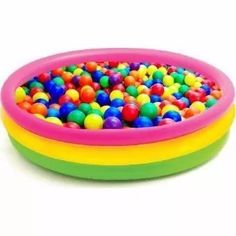 piscina intex inflable 114 x 24 cm + 100 pelotas de colores Piscina Intex, Sprinkles, Candy, Infant Activities, Free Market, Pools, Castles, Windows, Board