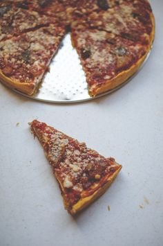 Pumpkin Deep Dish Pizza