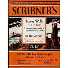 """Scribner's Magazine"" ""Thomas Wolfe"" | Thomas Wolfe (Avon Modern Short Story Monthly, No.17): Thomas Wolfe"
