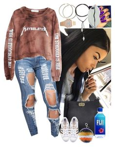 """Untitled #3772"" by astoldby-kay ❤ liked on Polyvore featuring MICHAEL Michael Kors, High Heels Suicide, adidas Originals, Fendi, Vanessa Mooney and STELLA McCARTNEY"