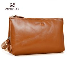 29.90$  Buy here - http://alidgm.shopchina.info/go.php?t=32620057412 - Difenise The First Layer Genuine Leather Women's Clutch Bags Real Cowhide Purse Party Handbags Wallet Women Send With Gift Box  #aliexpressideas