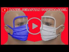 TAPA BOCA CON PROTECTOR DE OJOS - mouth cap with eye protector - 护眼套 - YouTube