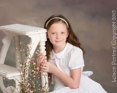 Princess of the Month in Mary Communion Dress #StrasburgChildren #firstcommunion #baptism