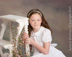 Princess of the Month in Mary Communion Dress #StrasburgChildren #firstcommunion #baptism