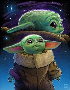 Star Wars Art Discover Baby Yoda - Created by Courtney Autumn Martin. Baby Yoda - Created by Courtney Autumn Martin. Source by elliecarolinexx. Images Star Wars, Star Wars Pictures, Star Wars Baby, Tableau Star Wars, Yoda Drawing, Baby Drawing, Yoda Images, Pop Art Posters, Star Wars Wallpaper