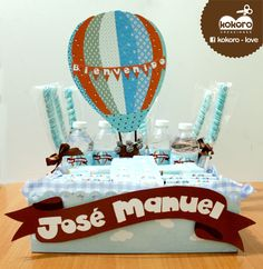 kit de recién nacido / globo aerostático