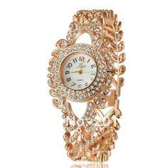 2014 New Special Offer Metal Strap Full Crystal Luxury Chinese Style Women WristWatch.Fashion Rhinestone Watch.Relogio Feminino US $14.24