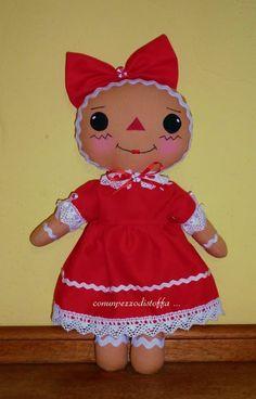Con un pezzo di stoffa ....: Ginger Annie