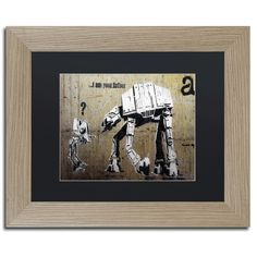 Your Father by Banksy Framed Graphic Art