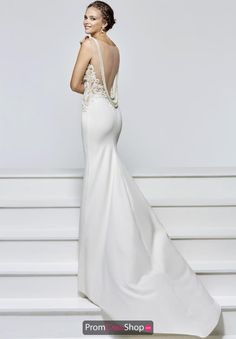 Tarik Ediz Sexy Back Long Dress 93131