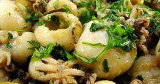 Calamari Recipes, Seafood Recipes, Portuguese Recipes, Light Recipes, Food Inspiration, Potato Salad, Paleo, Good Food, Food And Drink