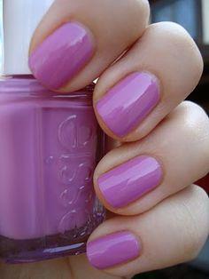 essie Splash of Grenadine. I just love Essie colors!