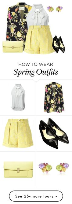 """""""outfit 3611"""" by natalyag on Polyvore featuring Etro, Mia & Beverly, Carven, Christian Dior and Dorothy Perkins"""