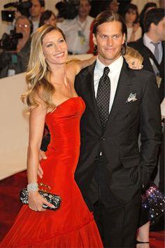 Gisele Bunchen and Tom Brady