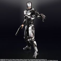 New Images: Robocop 2014 Play Arts Kai Action Figures