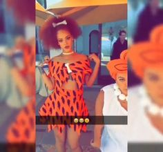 Pin for Later: Here's Rihanna as Pebbles Flintstone, Proving Kids' Parties Are Really Just For Adults