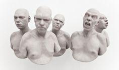 Richard Stipl - Futile Attempt IV   Galerie Dukan
