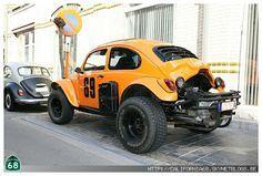 Vw Vintage, Vintage Race Car, Car Volkswagen, Vw Cars, Fusca Cross, 4x4, Combi Wv, Vw Baja Bug, Good Looking Cars