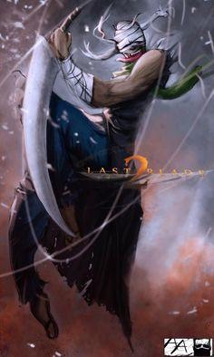 LegenD Danny Art Work - Last 2 Blade ..