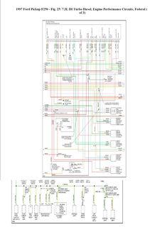 7.3 powerstroke wiring diagram - Google Search | work | Ford ... on 1997 f350 headlights, 1997 f350 horn relay, 1997 f350 manual, 1997 f350 trailer wiring, 1997 f350 fuel pump relay, 1997 f350 turn signal, 2001 ford f350 wiring schematic, 1995 7 3 powerstroke wiring schematic, 2006 f350 headlight wiring schematic, ford f-350 wiring schematic,