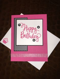 Card class card. Stampin' Up! Stylized Birthday stamp set, Pop of Pink Specialty DSP & Washi Tape. FB #stampinsharewithjenny