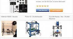 Bester 3D Drucker Bausatz - Vergleichstabelle Testsieger - 3D Drucker selber bauen - http://www.bester-3d-drucker.com