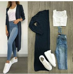New Fashion Casual Hijabi Jeans 20 Ideas – Outfits – – Hijab Fashion 2020 Look Fashion, Hijab Fashion, New Fashion, Trendy Fashion, Fashion Outfits, Jeans Fashion, Fashion Mode, Trendy Style, Fasion