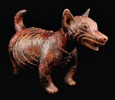 Colima Standing Dog, Ancient West Mexico Pre-Columbian Art