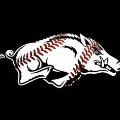 Razorback thru n thru Razorback Baseball, Ar Razorbacks, Arkansas Razorbacks Football, Razorback Shirt, Woo Pig Sooie, Baseball Games, Baseball Stuff, Rock Crafts, Sports