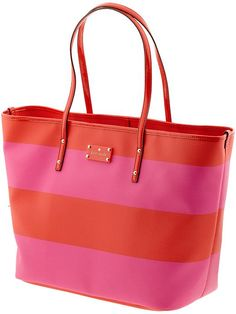 870d1e38bd pretty pink and red tote kate spade. Could be a cute diaper bag  Kate