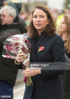 Rebecca Deacon during an official visit by Catherine, Duchess of Cambridge and Prince William, Duke of Cambridge at Pembroke Refinery on November 8, 2014 in Pembroke, Wales.