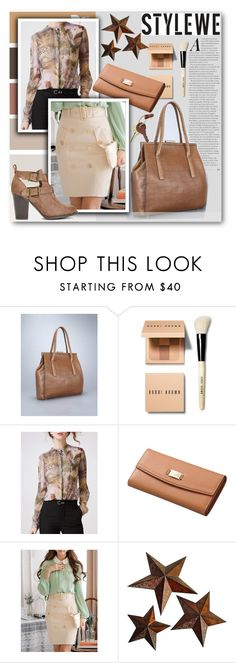"""""""StyleWe II/10"""" by tanja133 ❤ liked on Polyvore featuring Bobbi Brown Cosmetics, Universal Lighting and Decor and Crate and Barrel"""